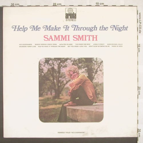 Smith,Sammi: Help Me Make It Through The Night, Ariola(85 344 IT), D,  - LP - A1175 - 7,50 Euro