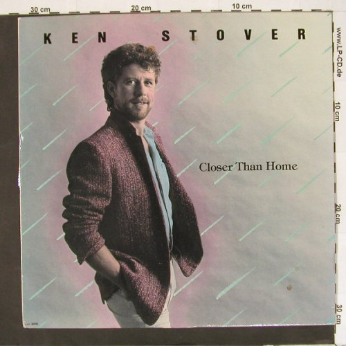 Stover,Ken: Closer Than Home, C.A.I.(C.A.I.00261), US, 85 - LP - A2026 - 7,50 Euro