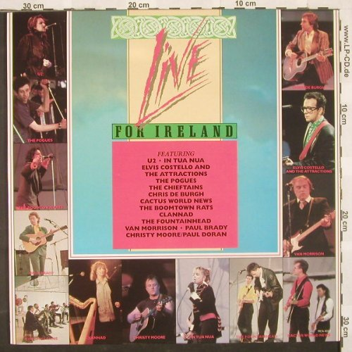 V.A.Live For Ireland: 13 Tr., MCA(), CDN, 87 - LP - A2124 - 7,50 Euro