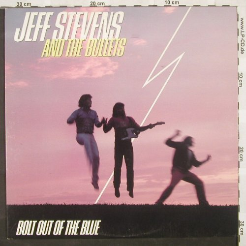 Stevens,Jeff & Bullets: Bolt Out Of The Blue, Atlantic(), US, 86 - LP - A2485 - 7,50 Euro