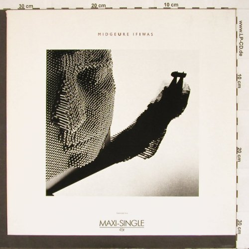 Ure,Midge: If I Was/Piano/The Man Wh, Chrys.(), , 85 - 12inch - A3302 - 4,00 Euro