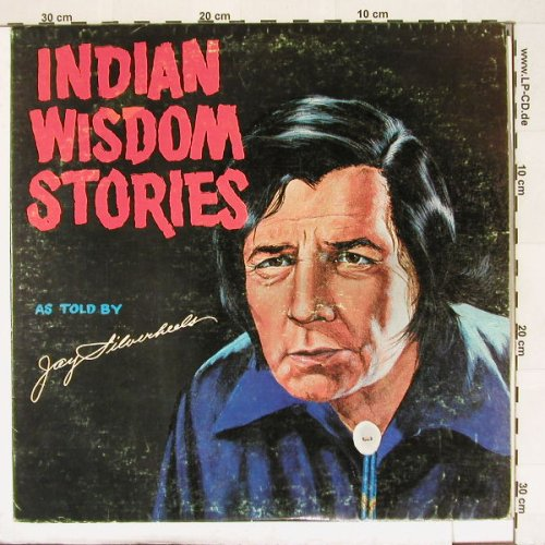 Indian Wisdom Stories: As Told By Jay Silverheels, vg+/vg+, Accuracy(), US,  - LP - A362 - 5,00 Euro