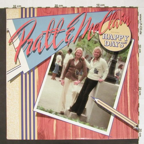 "Pratt & Mc Clain: feat""Happy Days"",Co, Reprise(MS 2250), US, 76 - LP - A3754 - 5,00 Euro"