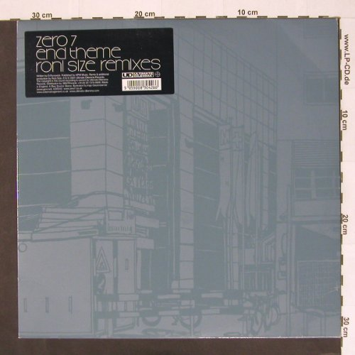 Zero 7: End Theme*2, Ultimate D(), UK, 01 - 12inch - A3770 - 4,00 Euro