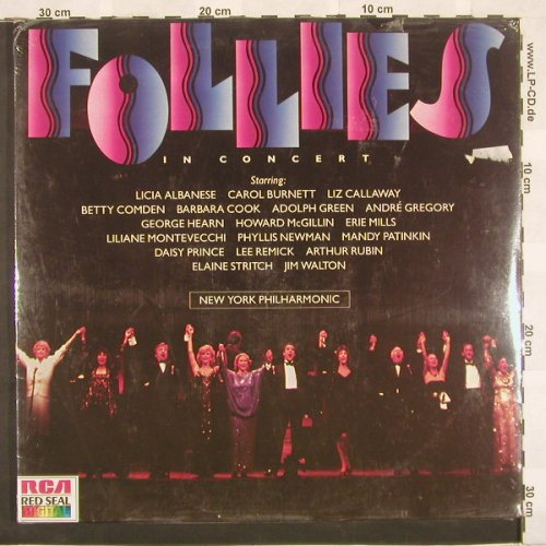 Follies: In Concert,FS-New,Foc, RCA(), D, 86 - 2LP - A3900 - 7,50 Euro