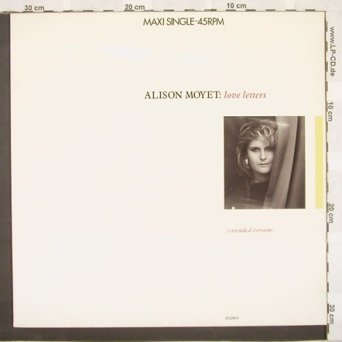 Moyet,Alison: Love Letters +2, CBS(), NL, 87 - 12inch - A3913 - 2,50 Euro