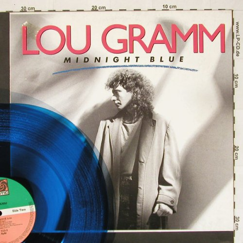 Gramm,Lou: Midnight Blue*2+1,BlueVinyl,spLimEd, Atlantic(), D M-VG+, 87 - 12inch - A4332 - 2,50 Euro