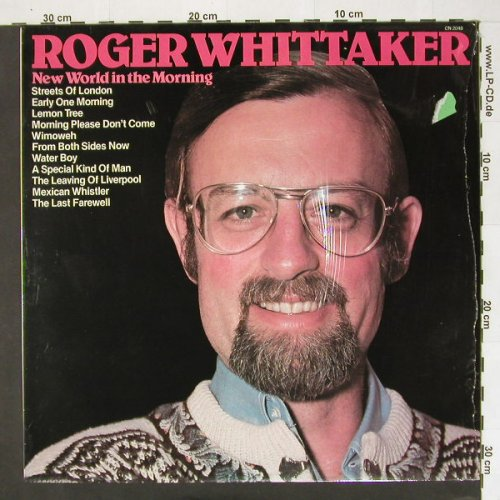 Whittaker,Roger: New World in the Morning,, Pickwick(CN2048), UK, 81 - LP - A4443 - 5,00 Euro