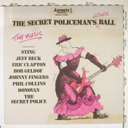 V.A.The Secret Policeman's: Other 1 Ball,Sting,Geldof,Clapton.., Springtime(HaHa6004), UK,  - LP - A445 - 2,50 Euro