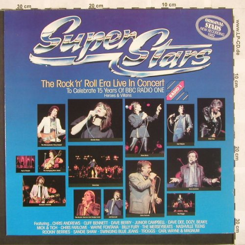 V.A.Super Stars-R'n'R Era: Live In Concert,16 Tr.,Facts, Avenue(6.25487), D, 83 - LP - A4548 - 5,00 Euro