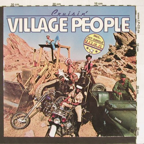 Village People: Cruisin',Club-Ed., Metron.(0900.112), D, 78 - LP - A463 - 5,00 Euro