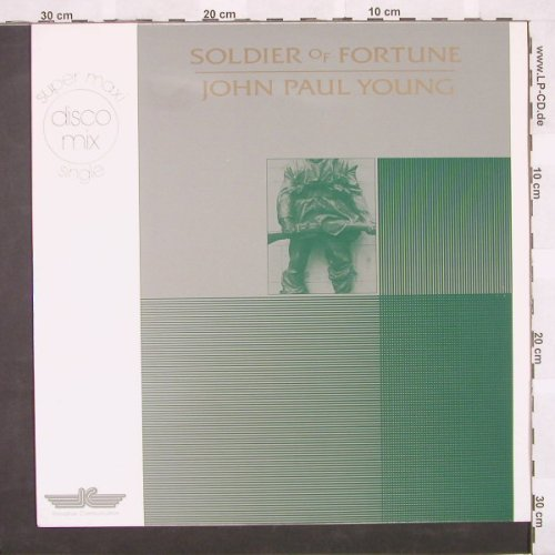 Young,John Paul: Soldier Of Fortune+1, IC(KS 45/80.039), D, 83 - 12inch - A4691 - 4,00 Euro