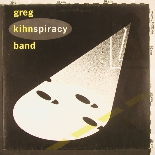 Kihn Band,Greg: Kihnspiracy, White Vinyl, Beserkley(96.0224-1), D, 83 - LP - A4800 - 5,00 Euro