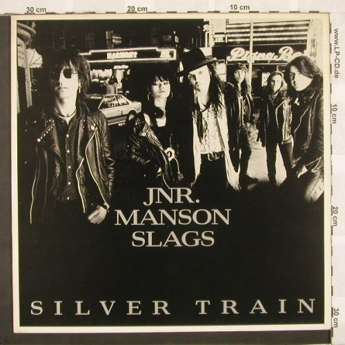 Jnr.Manson Slags: Silver Train+2, BlipVert(VERT 2 T), UK, 89 - 12inch - A5024 - 4,00 Euro