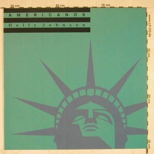 Holly Johnson: Americanos*3, MCA(257 596-0 LB), D, 1988 - 12inch - A5569 - 2,50 Euro