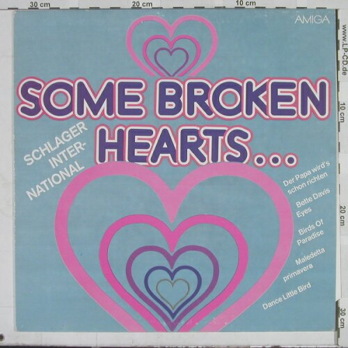 V.A.Some Broken Hearts...: 12 Tr., Amiga(8 55 976), GDR, 82 - LP - A5607 - 4,00 Euro