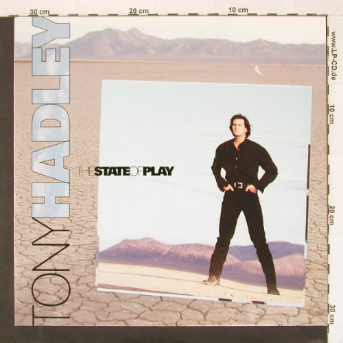 Hadley,Tony: The State Of Play, EMI(), EEC M-VG+, 92 - LP - A6024 - 2,50 Euro