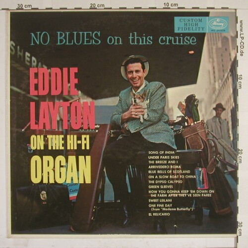 Layton,Eddie: No Blues On This Cruise, Mercury(Mg 20308), US,  - LP - A6923 - 10,00 Euro