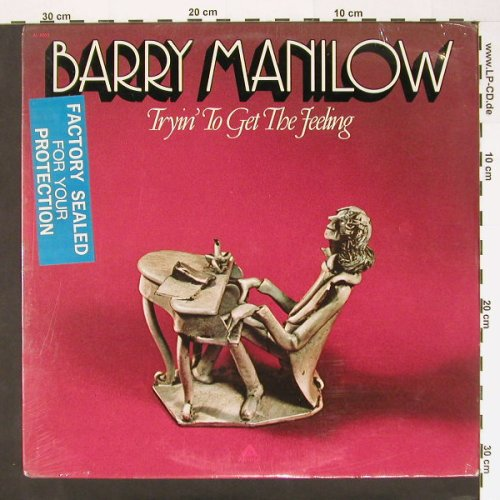 Manilow,Barry: Tryin'To Get The Feeling, FS-New, Arista(AL 4060), US, 75 - LP - A7057 - 7,50 Euro