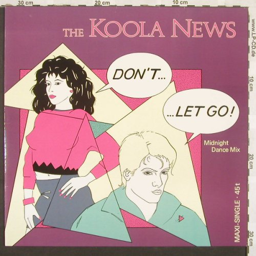 Koola News: Don't-Let Go!*3, Hansa(602 121-213), D, 86 - 12inch - A7146 - 4,00 Euro