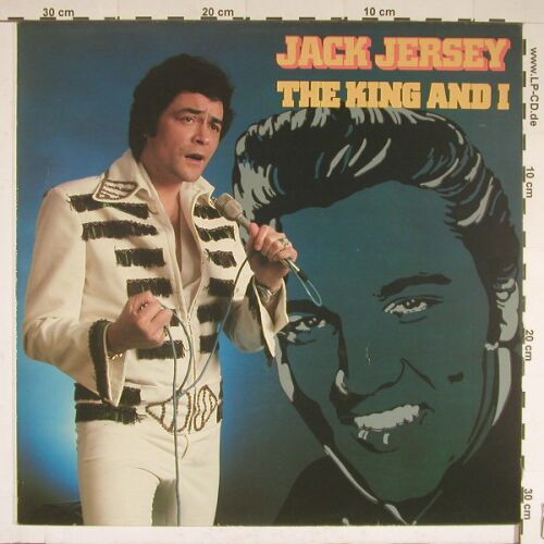 Jersey,Jack: The King And I, Bovema(062-26210), NL, 79 - LP - A7460 - 3,00 Euro