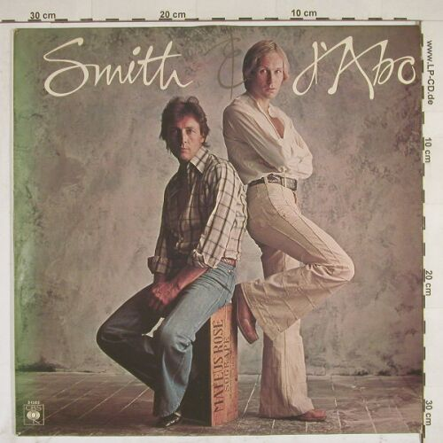 Smith & d'Abo: Same, CBS(81583), NL M-VG+, 76 - LP - A7839 - 9,00 Euro