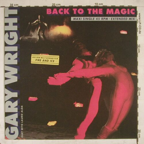 Wright,Gary & Laurie Alda: Back To The Magic+1, CBS(A 12.6978), NL, 86 - 12inch - A7972 - 2,50 Euro