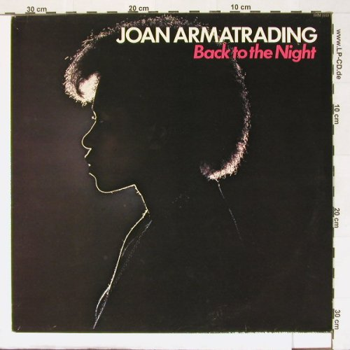 Armatrading,Joan: Back To The Night, Ri, Hallmark(SHM 3153), UK, 1975 - LP - A798 - 4,00 Euro