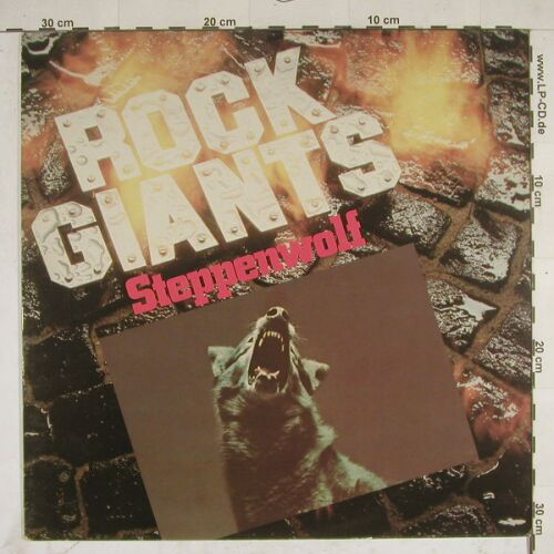 Steppenwolf: Rock Giants, Epic(54 457), NL, 82 - LP - A8032 - 5,00 Euro