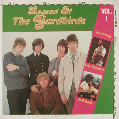 Yardbirds: Legend Of, Vol.1, Babylon(F 80 017), D,  - LP - A8343 - 5,00 Euro