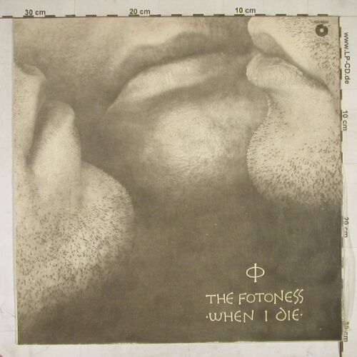 Fotones,The: When I Die, Polskie N.(SX 2608), PL, 88 - LP - A8595 - 5,00 Euro
