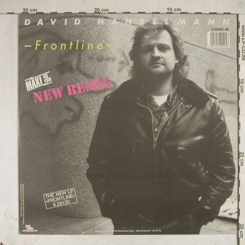 Hanselmann,David: Frontline(new Remix),Yellow Vinyl, Big Mouth(6.20425 AE), D, 85 - 12inch - A8696 - 2,00 Euro