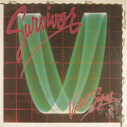 Survivor: Vital Signs, FS-new, CBS(SCT 26 126), D, 84 - LP - A8866 - 7,50 Euro