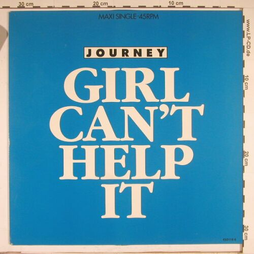 Journey: Girl Can't Help It+1, m-/vg+, CBS(650 116 6), NL, 86 - 12inch - A8965 - 2,50 Euro