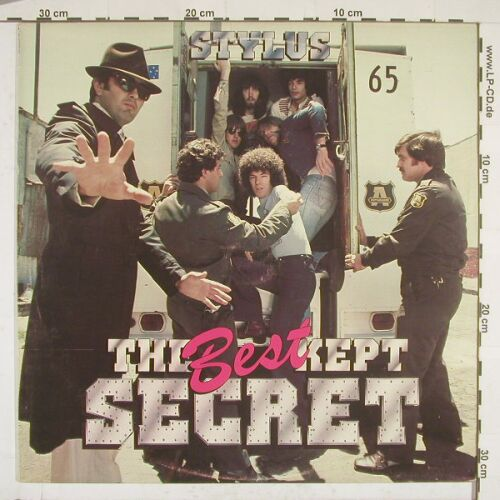 Stylus: Best Kept Secret, OZ Rec.(C 062-61181), AUS, 78 - LP - A9311 - 7,50 Euro