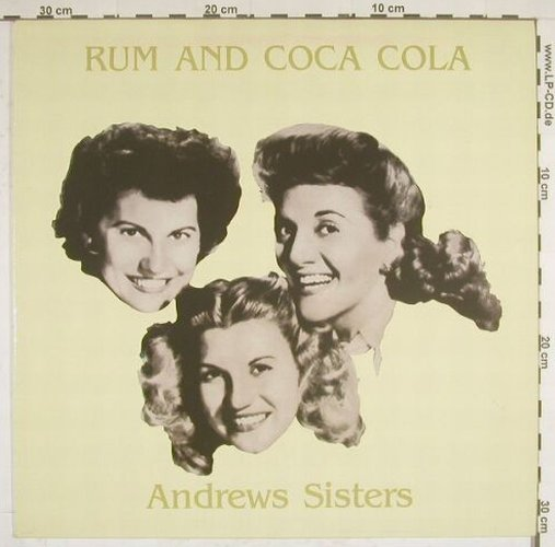 Andrews Sisters: Rum And Coca Cola, AllroundTr(31025), DK, 85 - LP - A9589 - 5,00 Euro