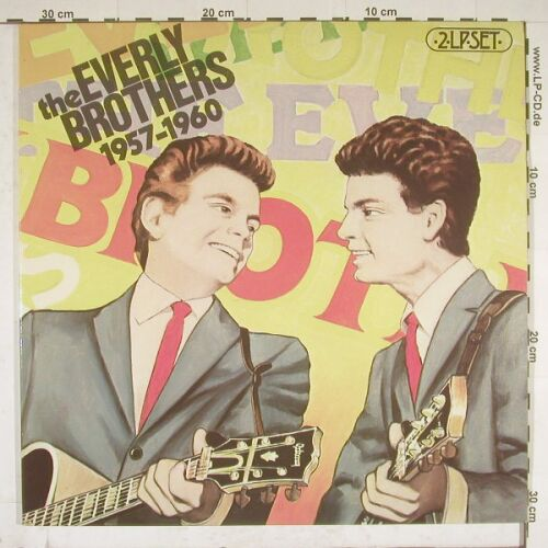 Everly Brothers: 1957-1960,Foc, Barnaby(SPLO 135), NL,  - 2LP - A9817 - 6,00 Euro