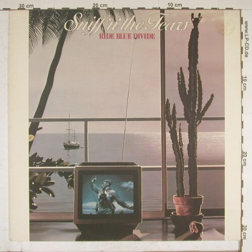 Sniff'n'The Tears: Ride Blue Divide, Chiswick(CWK-3020), UK, 1982 - LP - A9910 - 4,00 Euro