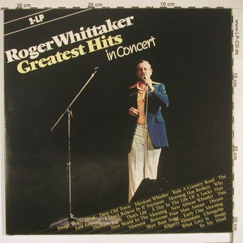 Whittaker,Roger: Greatest Hits in Concert '78,Foc, Aves(INT 156.515), D, 83 - 2LP - B1239 - 6,00 Euro