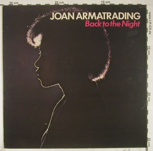 Armatrading,Joan: Back To The Night(75), Pickwick(SHM 3153), UK, 1984 - LP - B1304 - 5,00 Euro