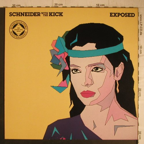 Schneider,Helen w.The Kick: Exposed, WEA(K 58 480), D, 1982 - LP - B1409 - 2,00 Euro