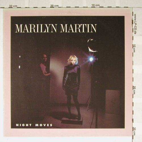 Martin,Marilyn: Night Moves+1, Atlantic(786829), D, 85 - 12inch - B1551 - 3,00 Euro