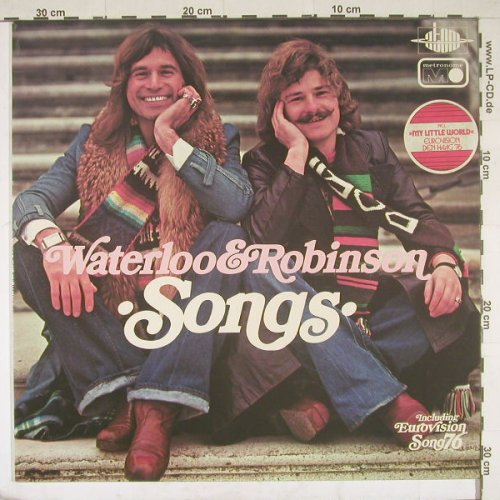 Waterloo & Robinson: Songs, Atom(MLP 15.572), D, 76 - LP - B1745 - 5,00 Euro