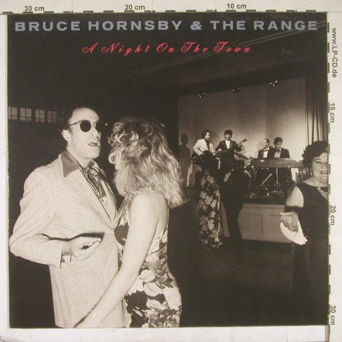 Hornsby,Bruce+the Range: A Night On The Town, RCA(PL82041), D, 90 - LP - B1839 - 4,00 Euro