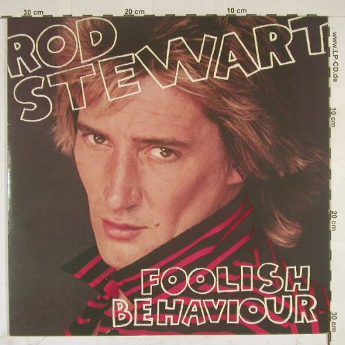 Stewart,Rod: Foolish Behaviour,+Poster, WB(58 865), D, 1980 - LP - B1855 - 5,50 Euro