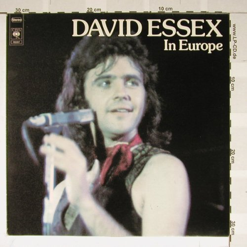 Essex,David: In Europe, CBS(86007), NL, 76 - LP - B1894 - 4,00 Euro