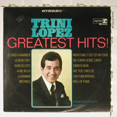 Lopez,Trini: Greatest Hits!, m-/vg+, Reprise(RS 6226), D,  - LP - B2017 - 3,00 Euro