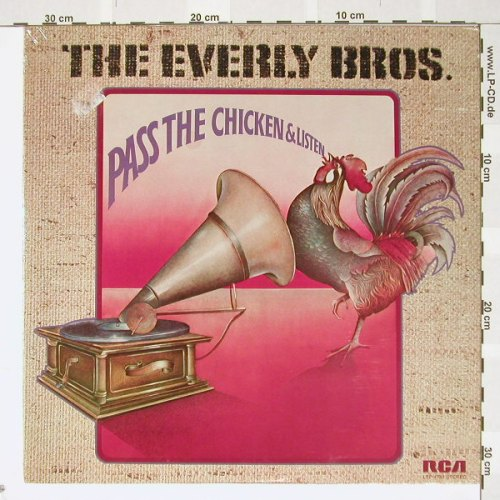 Everly Brothers: Pass The Chicken & Listen, FS-New, RCA(LSP-4781), US, co, 72 - LP - B2465 - 9,00 Euro
