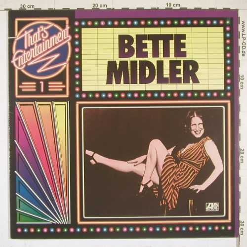 Midler,Bette: That's Entertainment 1, Atlantic(40 453), D, 77 - LP - B2732 - 5,00 Euro