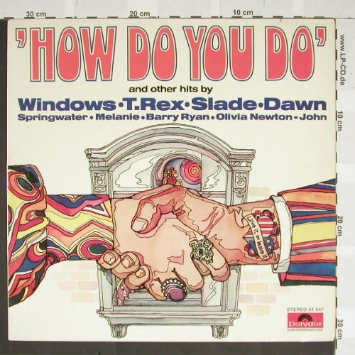V.A.How Do You Do: Windows,T.Tex,Slade,Dawn, Polyd.(61547), D, 72 - LP - B2978 - 5,00 Euro